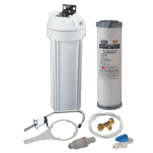 Undersink water filter system