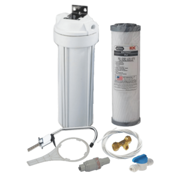 Undersink water filter system